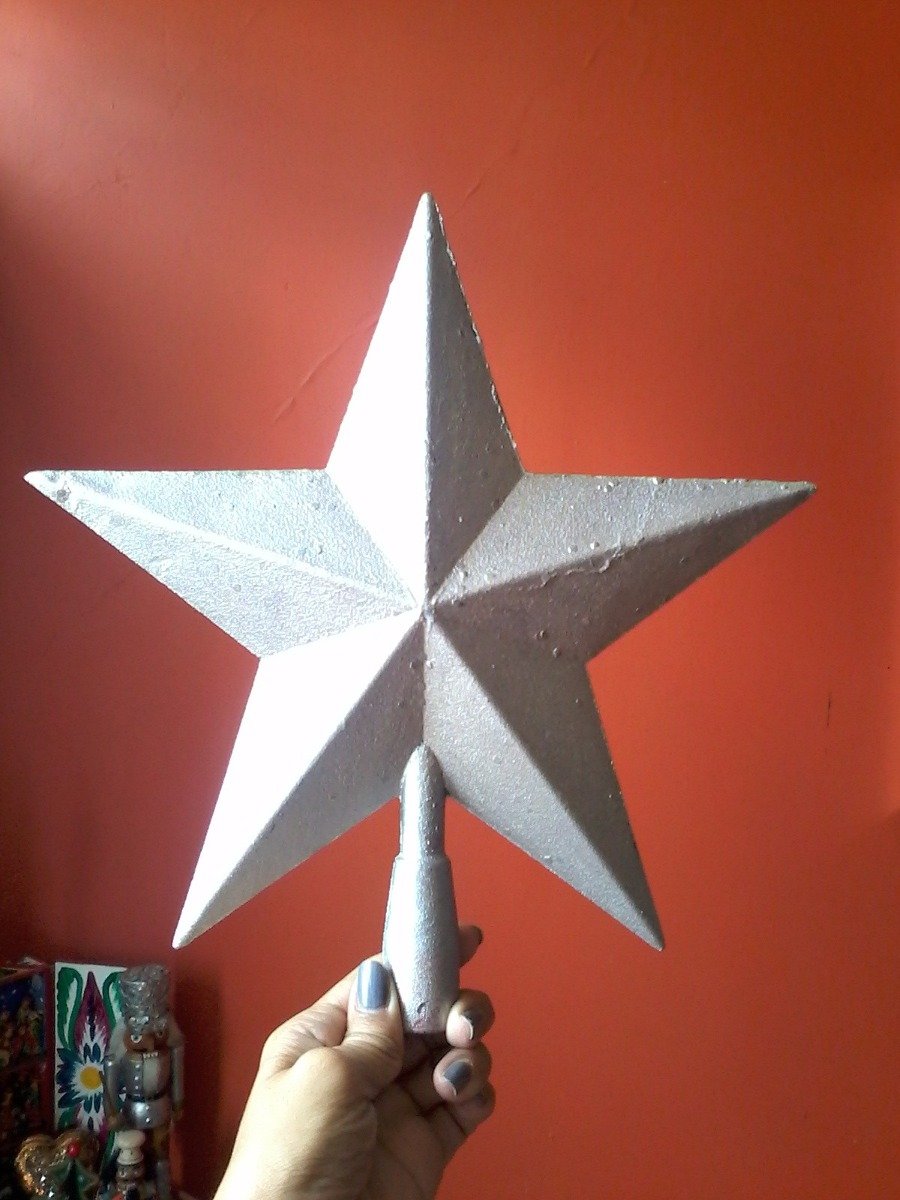 estrella de navidad punta de arbol