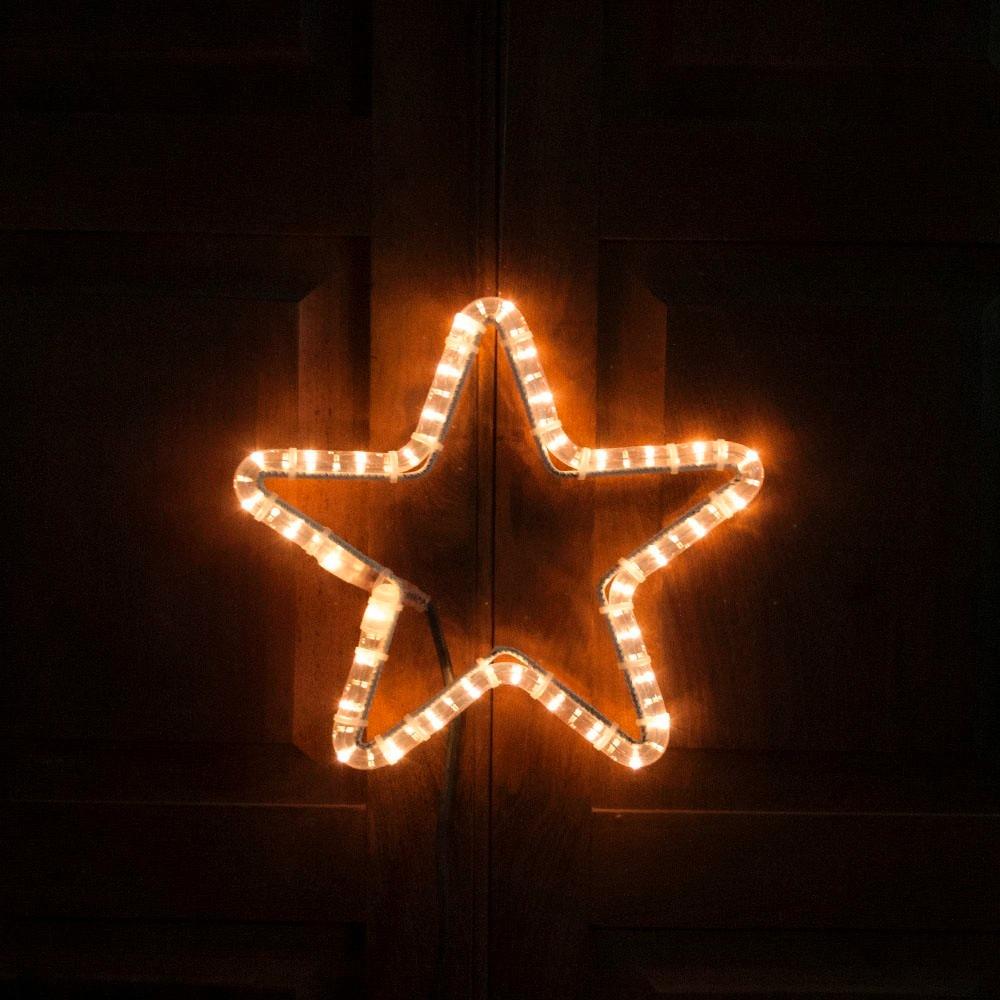 0257dbbda5f estrella luminosa 27 cm manguera luces luz exterior navidad. Cargando zoom.