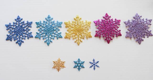 Estrella navidad decoraci n rbol pared goma eva - Decoracion navidad goma eva ...