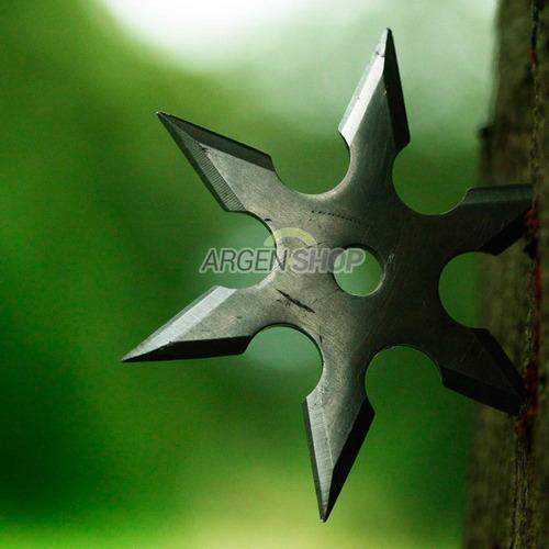 estrella ninja shuriken 6 puntas kunai lanzar funda