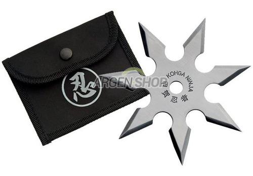 estrella ninja shuriken 7 puntas kunai lanzar funda
