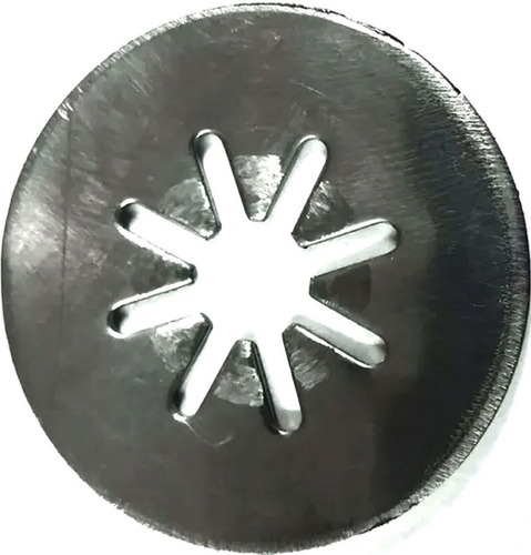 estrella simple acero repuesto para churreras