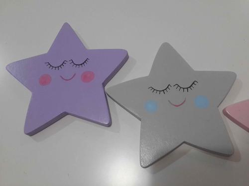 estrellas apliques fibrofacil decoracion habitacion bebe