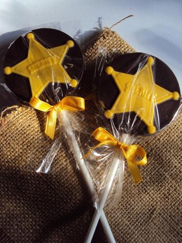 estrellas de chocolate estrella sheriff