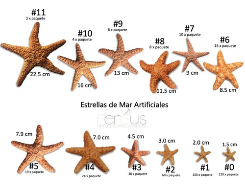estrellas de mar para decorar bodas artificiales