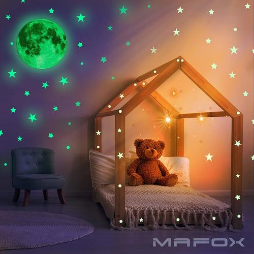 estrellas de pared o techo que brillan en la oscuridad...