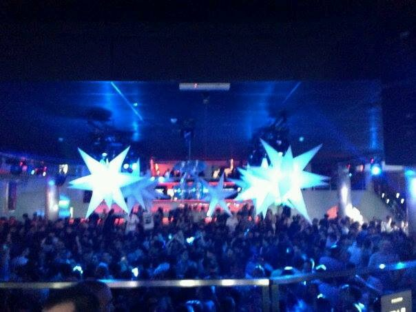 estrellas inflables con leds mts decoracion fiestas