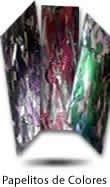 estrellas rosas en papel de seda - papelitos - confettis