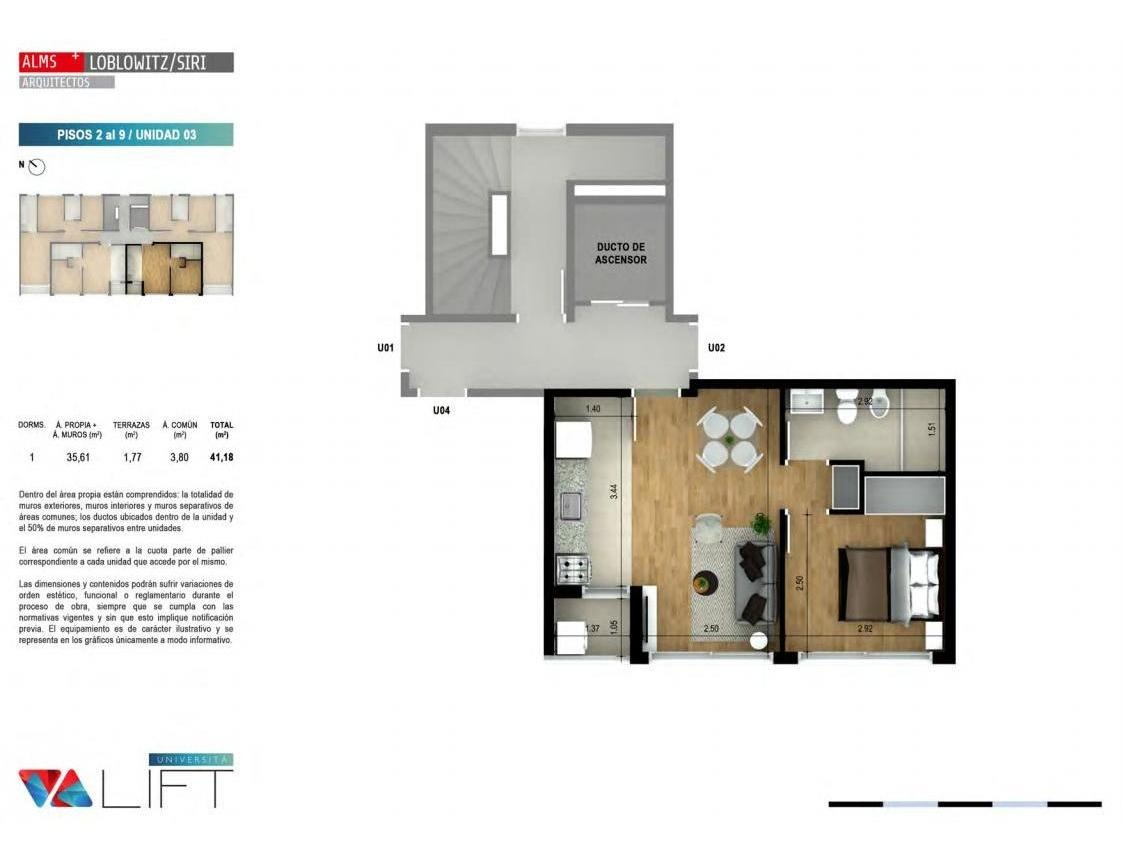 estrena agosto 2020| 1 dormitorio con patio| vivienda social