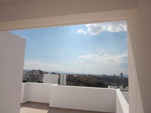 estrena casa en venta con roof garden - fracc. lucépolis - milenio iii querétaro