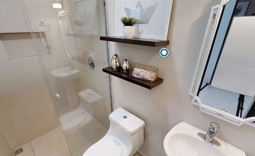 estrena casa entre el refugio y zibata, 3 recamaras, una en pb, 3 baños, alberca