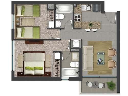 estrena departamento en colonia nextengo con roof garden.