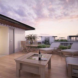 estrena hermosa casa con living room modelo  b  ubicadas en samsara el condado.