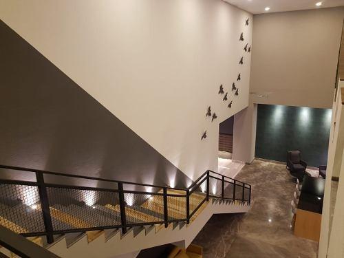 estrena oficinas en renta piso 26 torre natyvo $18,000