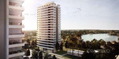 estrena sobre av.de las américas, piso alto. 2 dormitorios, 2 baños, terrazas, amenities.