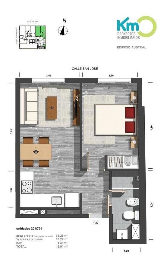 estrene 1d hermoso apartamento a metros plaza cagancha