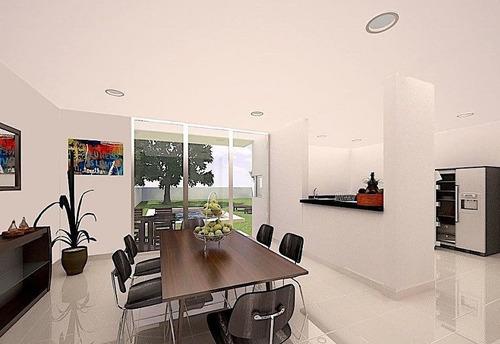 ¡estrene casa en con amplio terreno en lomas plus de dzitya!