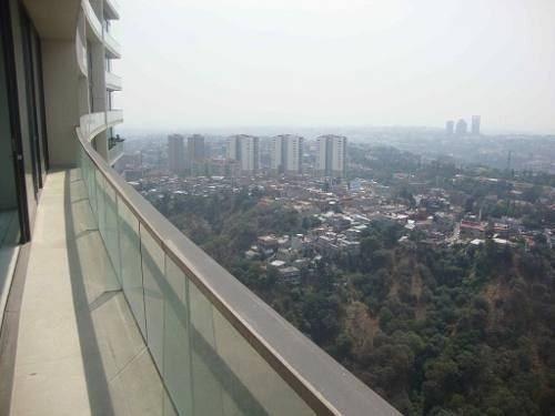 estrene depto lomas de vista hermosa, 271.5 m2, en 23° piso,