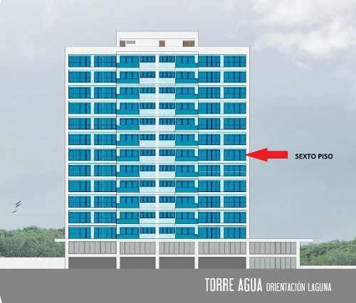 estrene depto. renta y venta brezza towers. 190 m2, 3 recs. el table
