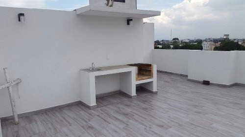 estrene p.h,  en santa cruz atoyac, 97 m2, 2 rec, 2 baños.