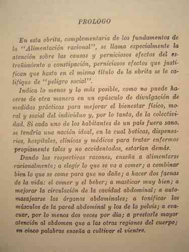 estreñimiento 1939, libro