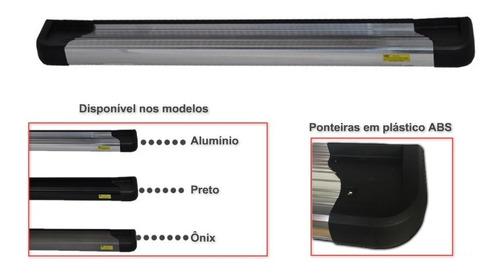 estribo alumínio preto pajero full 3 portas 2008 2019
