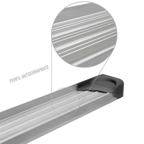estribo de aluminio s-10/hilux/ranger/l-200/frontier/amarok