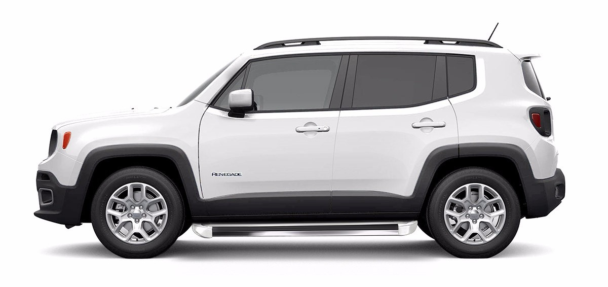 Estribo Jeep Renegade 2015 2016 Cor Original Branco