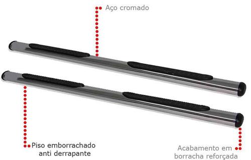 estribo lateral cromado mitsubishi pajero tr4 2004..  2014