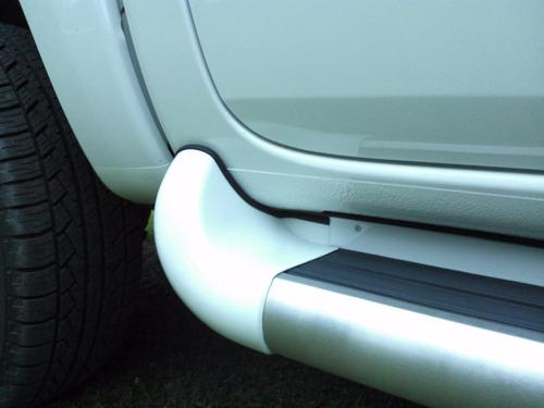 estribo nova ranger cabine dupla 2013 2020  branco ártico