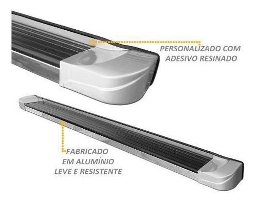 estribo personalizado cor original branco s10 cd 2012 2020