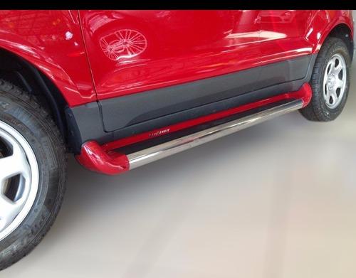 estribo personalizado vermelho arpoador ecosport 2013 2020