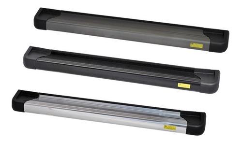 estribo plataforma  aluminio preto suzuki novo jimny 2019/