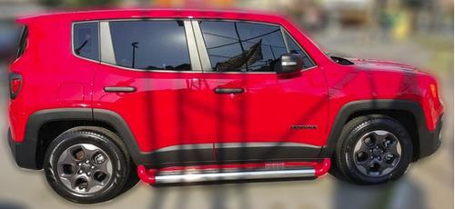 estribo plataforma personalizado cinza antique jeep renegade