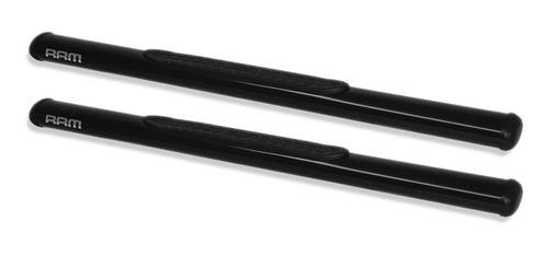 estribo tubular oblongo preto dodge ram simples 2006 2011