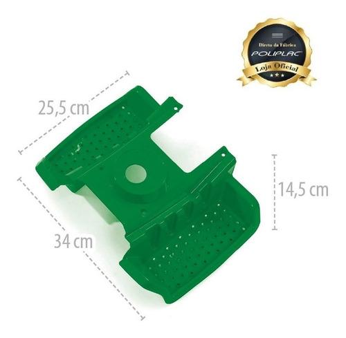 estribo verde - politractor® - 7638