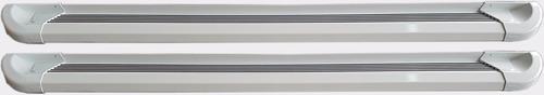 estribos aluminio blanco g2 bepo p/ ranger 2013 2019 2020
