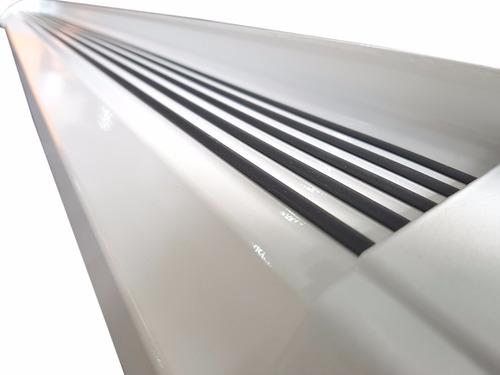 estribos aluminio blanco g2 bepo para toyota hilux 05 / 12