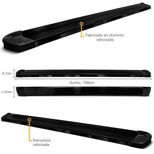 estribos aluminio negro bepo brasil amarok ranger hilux s10