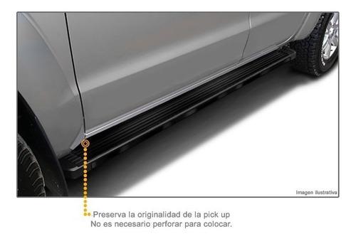 estribos aluminio negro bepo brasil chevrolet s10