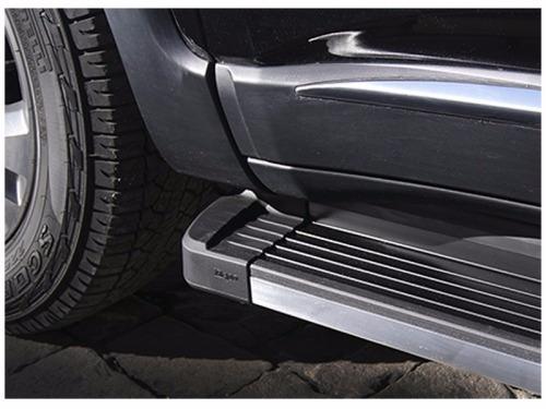 estribos aluminio negro combinado g3 bepo para s10 2012+