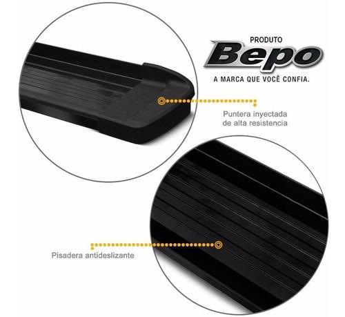 estribos aluminio negro g3 bepo p/ toyota hilux 2016 2019