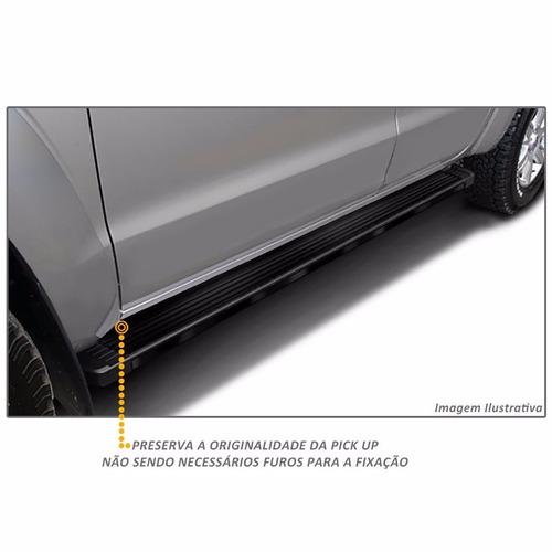 estribos aluminio negro g3 bepo para ford ranger 2013+