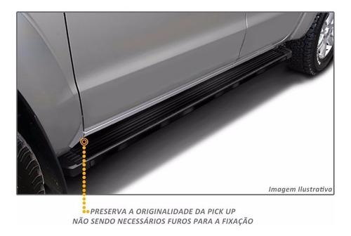 estribos aluminio negro g3 bepo para renault duster oroch