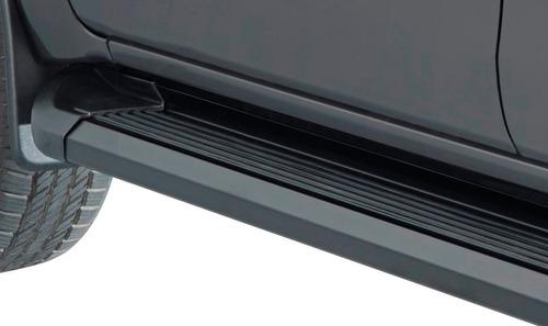 estribos aluminio negro super pesado bepo brasil vw amarok