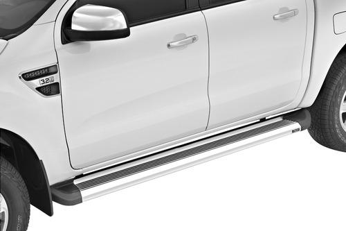estribos aluminio pesado g2 bepo p/ ford ranger 2019 2020