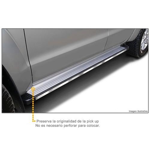 estribos aluminio pulido bepo brasil ford ranger