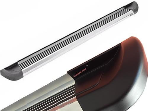 estribos aluminio pulido super pesado bepo brasil ranger