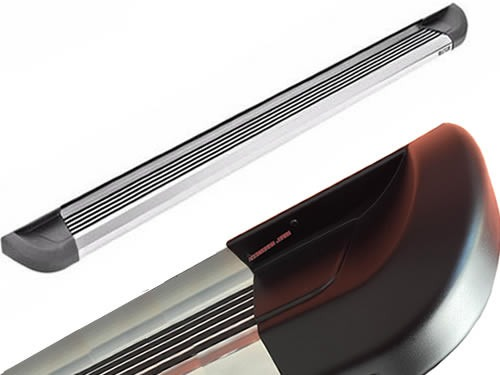 estribos aluminio pulido super pesado bepo brasil s10