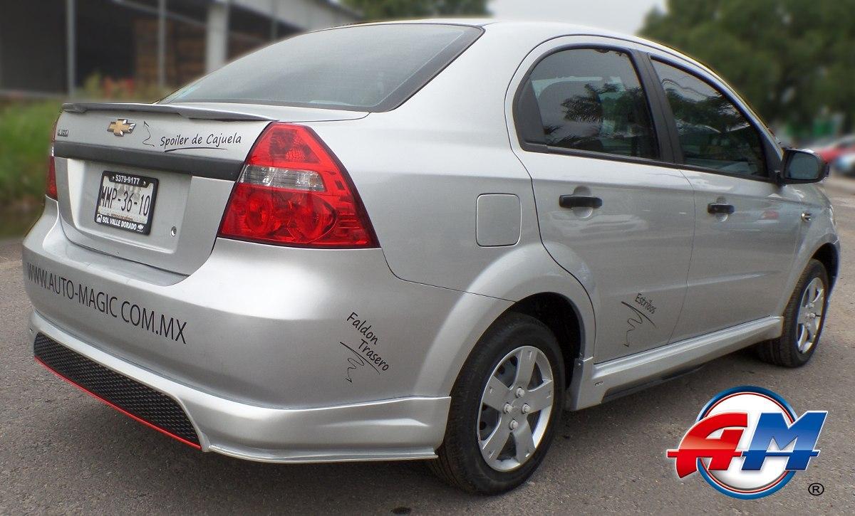 Chevrolet Aveo 2016 >> Estribos Aveo 2008-2016 (juego) - $ 2,133.00 en Mercado Libre
